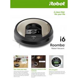 Aspirador Roomba, ROBOT I 6158